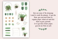 Daily Planner printable PDF - Daily spread - Undated planner Product Image 3