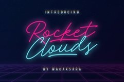 Rocket Clouds Product Image 1