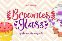 Brownies Glass Product Image 1
