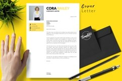Legal Resume CV Template for Word & Pages Cora Bailey Product Image 5