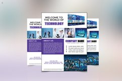 Technology Flyer Template Product Image 2
