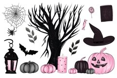 Halloween Characters Clipart, Halloween PNG File Product Image 3