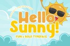 Hello Sunny Fun & Bold Typeface Product Image 1