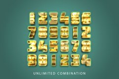 3D Gold Text Effect Product Image 2
