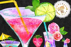 Summer Cocktail Clip Art Product Image 3