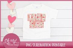 Love Bug Valentine's Sublimation Printable Design Product Image 2