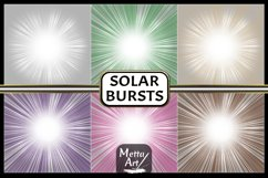 "12 Designs - 12"" x 12"" Solar Flare Bursts Set Product Image 2"