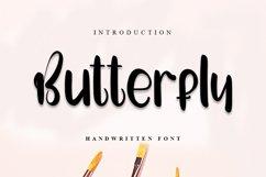 Butterfly | Cute Handwritten Font Product Image 1
