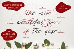 Christmas Eve. Holiday Script font. Product Image 3