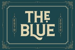 The Blue Font Product Image 1