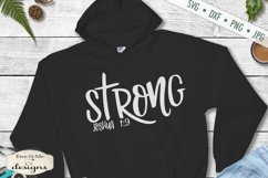 Strong | Salty | Loved | Chosen | Fearless | Christian SVG Product Image 6
