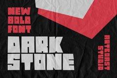 Dark Stone - Extra Bold Font Product Image 1