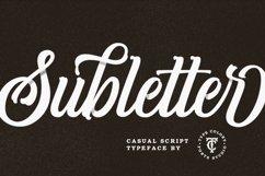 Subletter Script Product Image 1