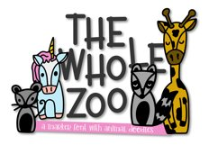 The Whole Zoo - Marker Font & Animal Dingbat Duo Product Image 1