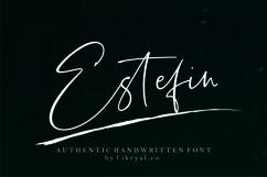 Estefin // handwritten font Product Image 1