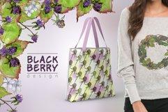 Sweetly blackberry JPG watercolor set  Product Image 5