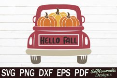 Fall SVG Bundle, Thanksgiving SVG Cut File Product Image 5