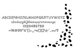 Dalmatian: A Spotted Font Product Image 4