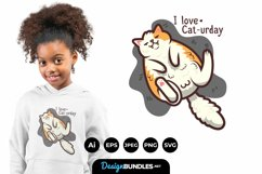 Cat-urday for T-Shirt Design Product Image 1