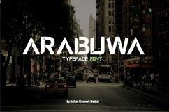 Web Font Arabuwa Typeface Font Product Image 1