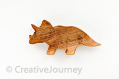 Dinosaur wooden toy. Product Image 1