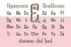 Domino-dot monospace san serif font duo Product Image 3