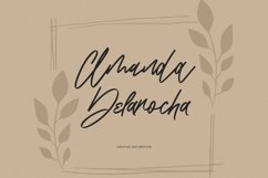 Blondey Rich Signature Script Font Product Image 2