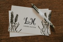Styled Monograms - Hand lettered Initials Product Image 3