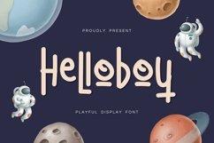Web Font HelloBoy Display Font Product Image 1