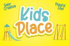 Kids Place Font Product Image 1
