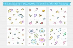 Cute Creatures Vector Set Product Image 6