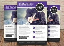 Agency Flyer Product Image 1