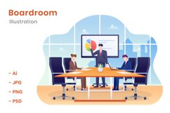 Boardroom Illustration Product Image 1