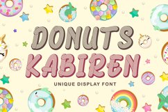 Quirky Craft Font - Donuts Kabiren Product Image 1