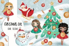 Christmas Eve Clip Art Product Image 1