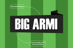 Big Armi Typeface Product Image 1