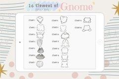 Fantastic Gnome 58 Element Brush Stamp Procreate. Brushes Product Image 6