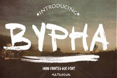 Baypha 2 Fonts Product Image 1