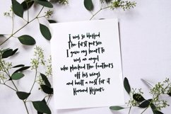 Willona - Quotable Handlettering Font Product Image 5