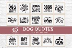 Dog Mom svg bundle - dog quotes svg png eps dxf Product Image 2