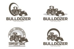Collection of bulldozer logo Product Image 1