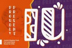 Web Font IU Font Product Image 1