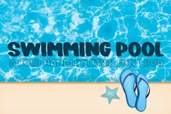 Swimming Pool - A Bold Hand-Lettered Font Duo Product Image 1