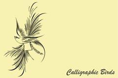 Calligraphic Birds Product Image 4
