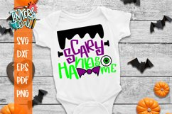 Scary Handsome Halloween SVG Cut File Product Image 1