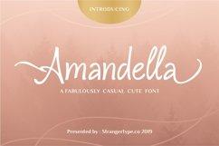 Amandella - Beauty Font Product Image 1