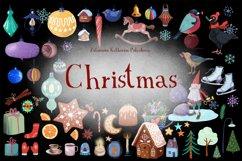 Christmas set. Hand drawn. Product Image 1