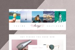 Canva - Marble Facebook Cover Pack Product Image 12
