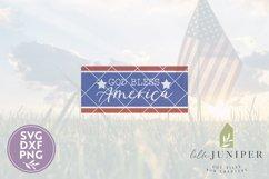 Patriotic Front Door SVG, God Bless America SVG Product Image 2