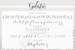 Galista - Modern Script Product Image 3